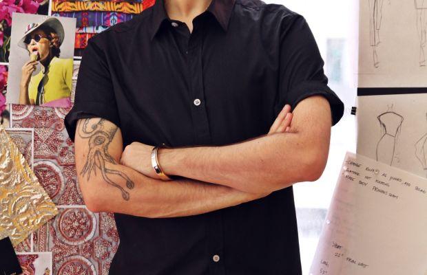Designer Christian Siriano. Photo: Christian Siriano