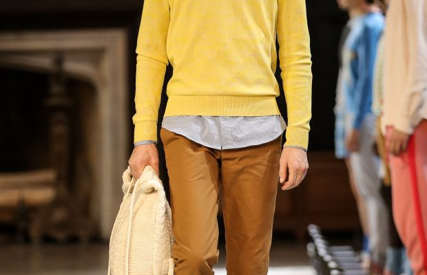 A look from Orley spring 2015. Photo: Chelsea Lauren/Getty Images