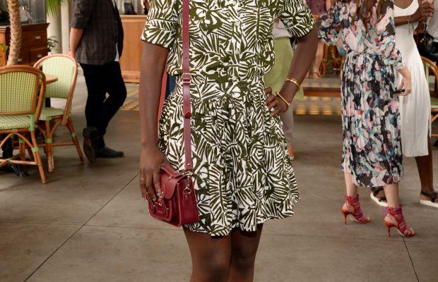 Nikki Ogunnaike in warmer times. Photo: Ben Gabbe/Getty Images