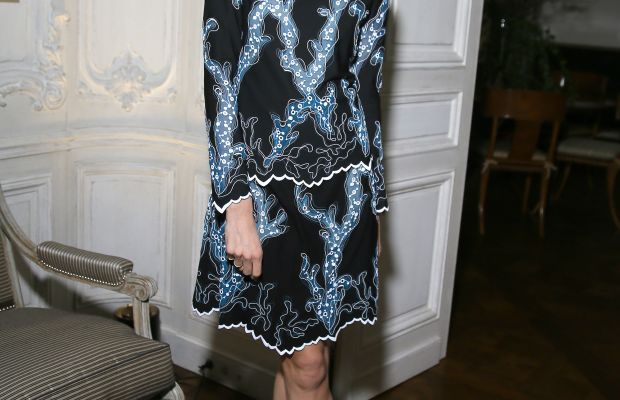 Moda Operandi co-founder Lauren Santo Domingo at an event in January. Photo: Victor Boyko/Getty Images
