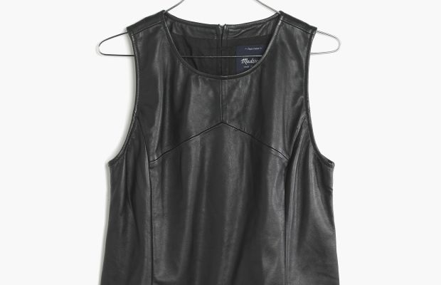 Leather crop tank, $129.99 (from $300), available at Madewell.