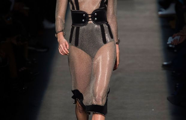 A look from Alexander Wang's fall 2015 collection. Photo: Imaxtree