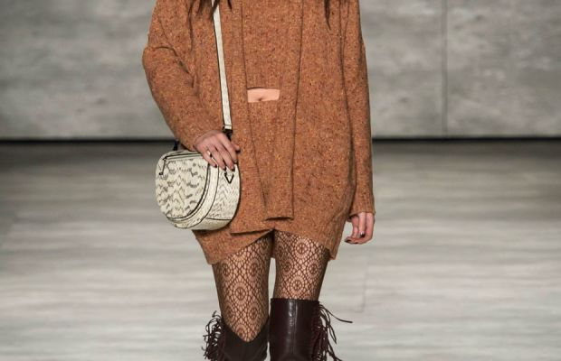 A look from Rebecca Minkoff's fall 2015 collection. Photo: Imaxtree