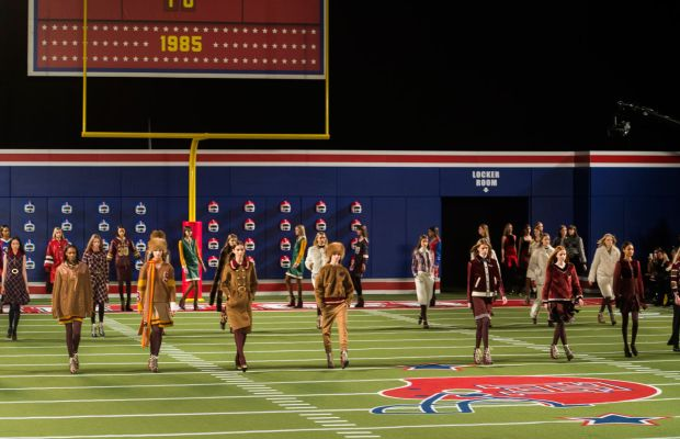 The finale of Tommy Hilfiger. Photo: Imaxtree