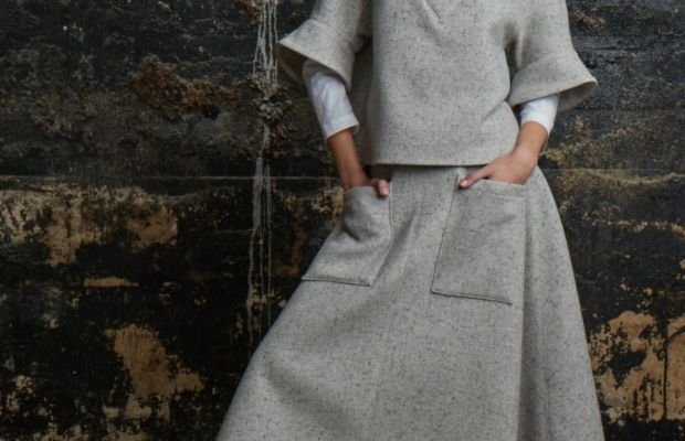 A look from Rosie Assoulin's fall 2015 collection. Photo: Rosie Assoulin
