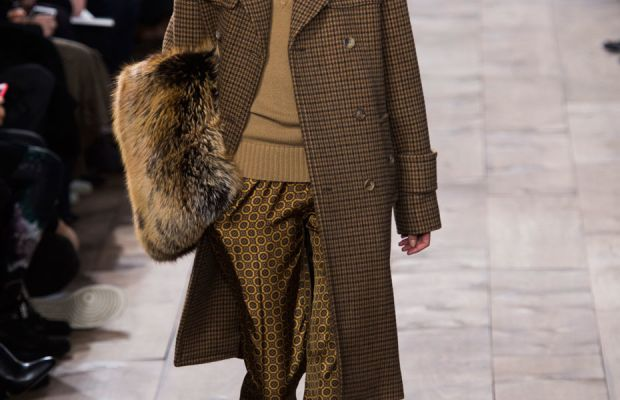 A look from Michael Kors's fall 2015 collection. Photo: Imaxtree