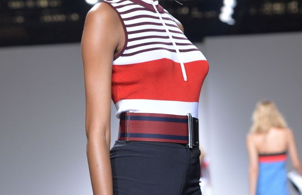 Jourdan Dunn walks the runway at the TopShop Unique in September. Photo: Anthony Harvey/Getty Images