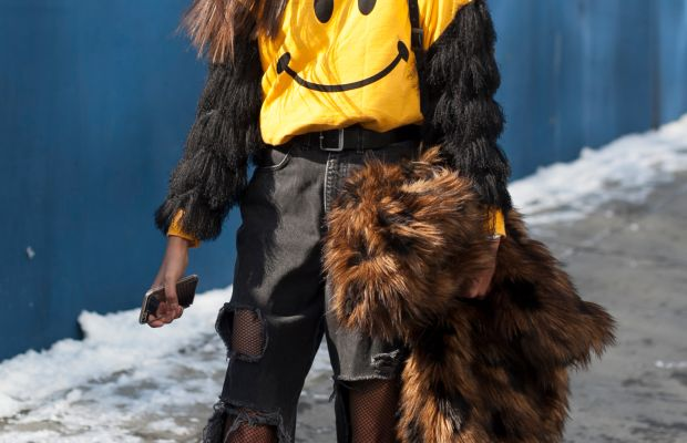 Lighten up, it's just fashion. Photo: Emily Malan/Fashionista