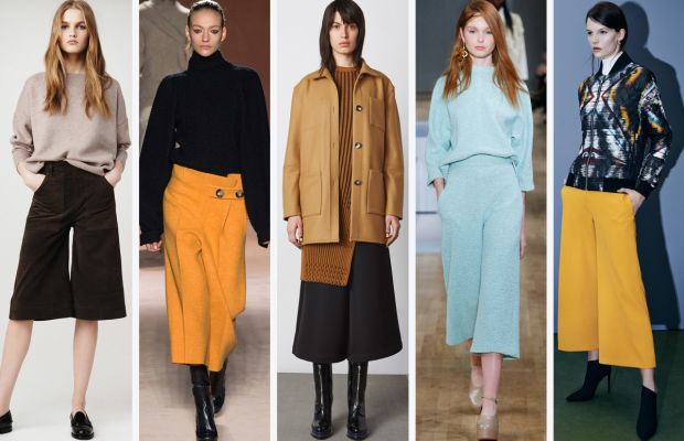 From left to right: Frame Denim, Victoria Beckham, Opening Ceremony, Tibi and Sachin + Babi