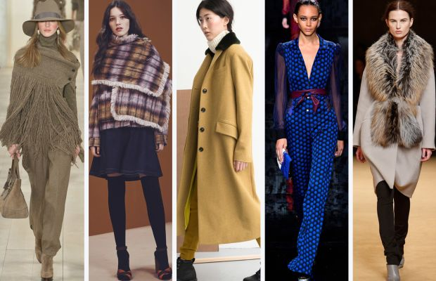 From left to right: Ralph Lauren, See by Chloe, M.Patmos, Diane von Furstenberg and Sally Lapointe