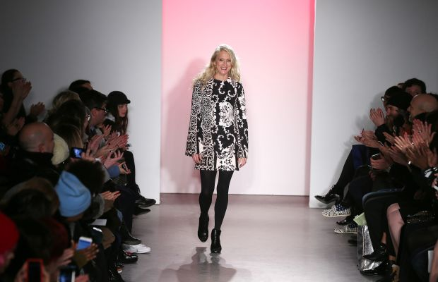 Nanette Lepore at her fall 2015 fashion show. Photo: Jemal Countess/Getty Images