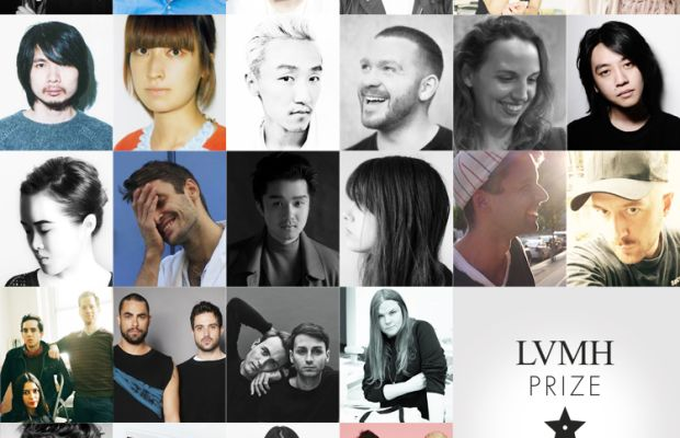 The 26 designers from the LVMH shortlist. Photo: LVMH