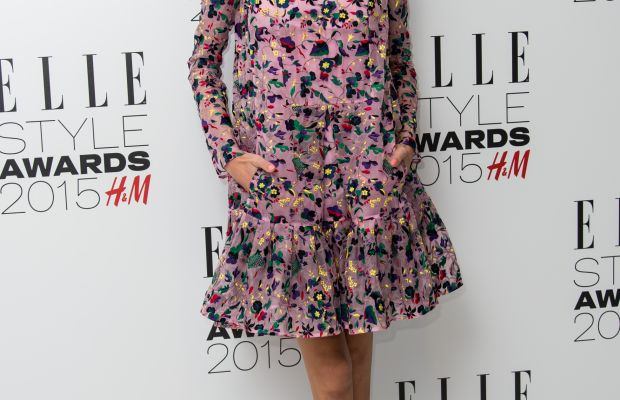 Pockets AND long sleeves. Alexa Chung in a fall 2015 Erdem dress at the Elle Style Awards. Photo: Ian Gavan/Getty Images