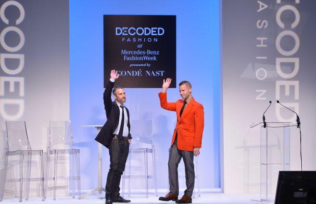Fab co-founders Jason Goldberg and Bradford Shellhammer in 2013. Photo: Stephen Lovekin/Getty Images