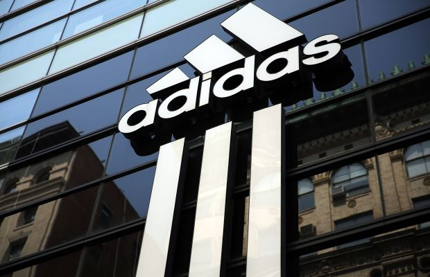 Adidas's store on Broadway in downtown Manhattan. Photo: Spencer Platt/Getty Images