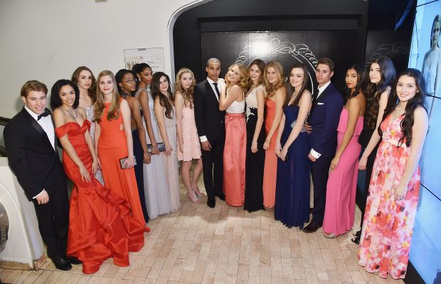 The prom court. Photo: Mike Coppola/Getty Images