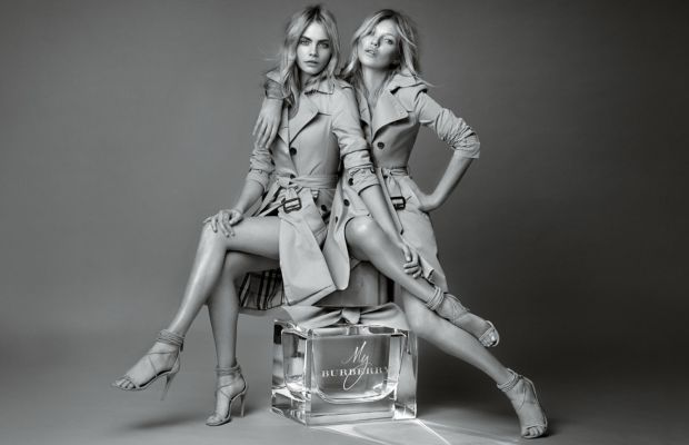 """The campaign for """"My Burberry."""" Photo: Burberry"""