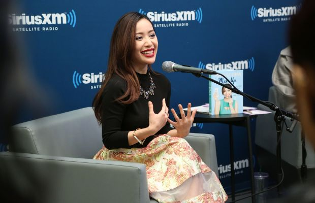 Michelle Phan speaking at an event in October. Photo: Taylor Hill/Getty Images