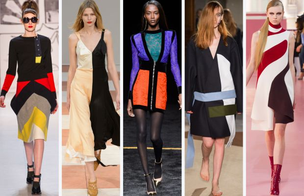 From left to right: Tsumori Chisato, Céline, Balmain, Jacquemes and Dior. Photos: Imaxtree