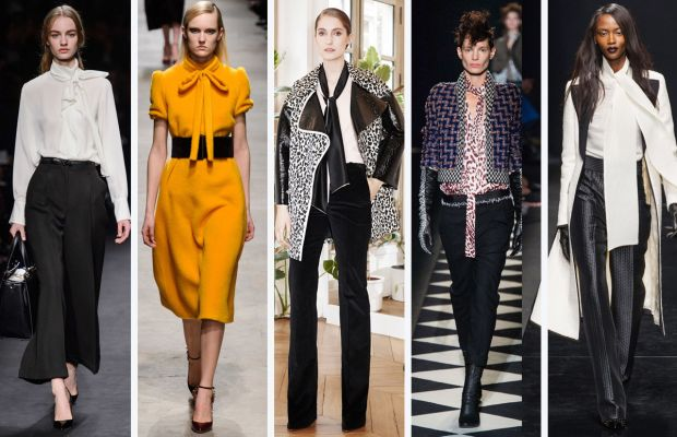 From left to right:Valentino, Rochas, Bouchra Jarrar, Haider Ackermann and Emanuel Ungaro. Photos: Imaxtree