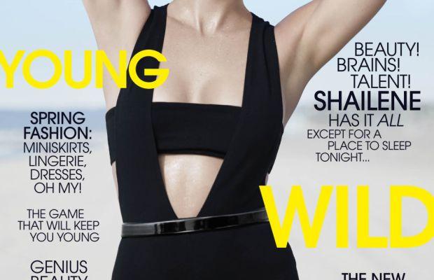 Shailene Woodley. Photo: Elle Magazine