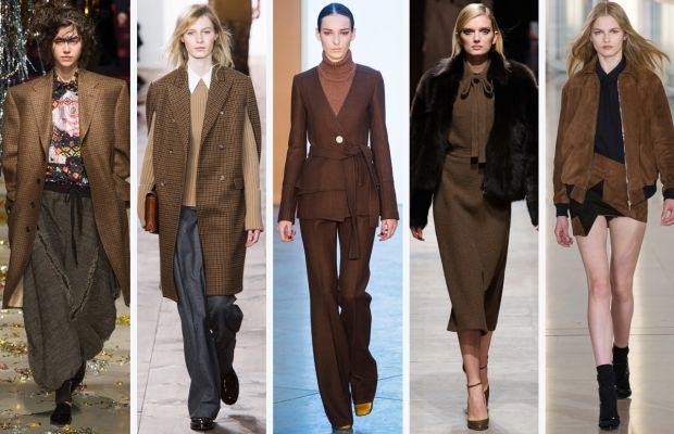 From left to right: Vivienne Westwood, Michael Kors, Derek Lam, Rochas and Anthony Vaccarello. Photos: Imaxtree