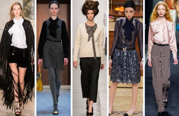 From left to right: Emilio Pucci, Orla Kiely, A Detacher, Chanel and Bottega Veneta. Photos: Imaxtree