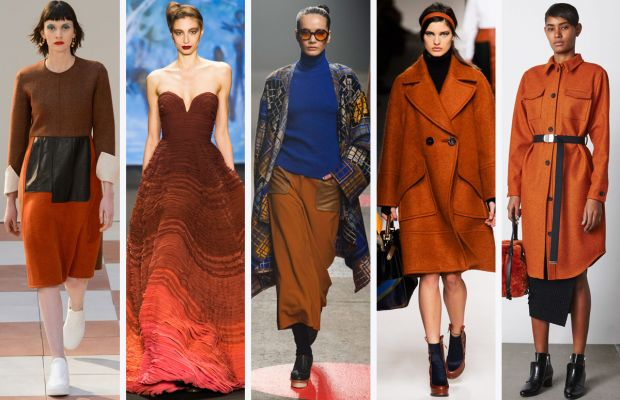 From left to right: Celine, Naeem Khan, Tracy Reese, Fendi and Opening Ceremony. Photos: Imaxtree