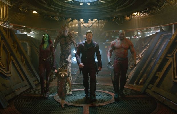 """Peter Quill and his special pants in """"Guardians of the Galaxy."""" Photo: Marvel"""