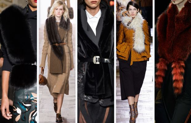 From left to right: Tod's, Michael Kors, Donna Karan, Dries van Noten and Givenchy. Photos: Imaxtree