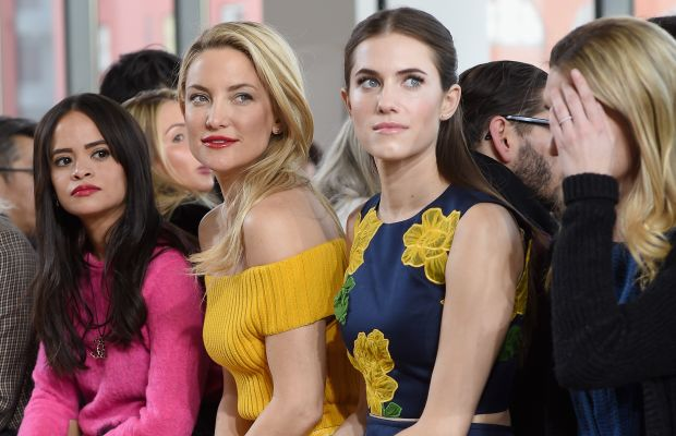 Kate Hudson and Allison Williams. Photo: Dimitrios Kambouris/Getty Images