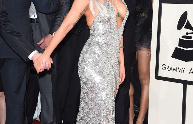 Lady Gaga at the Grammy Awards in February. Photo: Jason Merritt/Getty Images