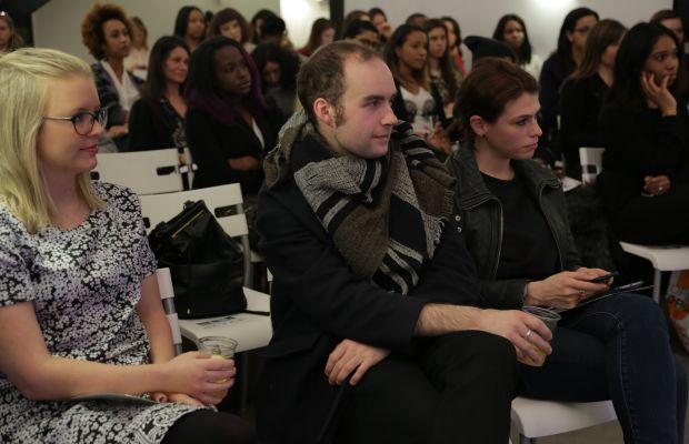 Thanks for coming, guys! Photo: Andrew Lampard/Fashionista
