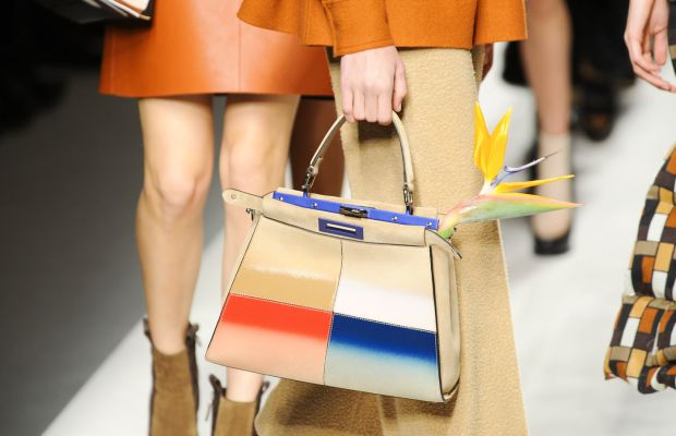 A look from Fendi's fall 2015 collection. Photo: Imaxtree