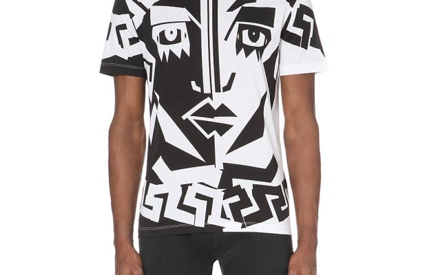 A Versace spring 2015 t-shirt. Photo: Selfridges