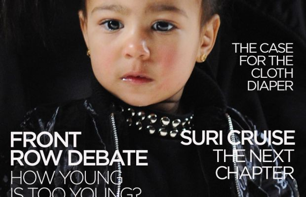 The first of many covers for young North West, we're sure.