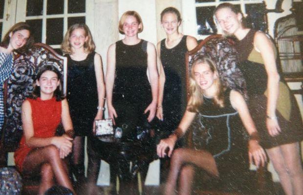Lyndsey Butler at bottom right. Photo: Veda