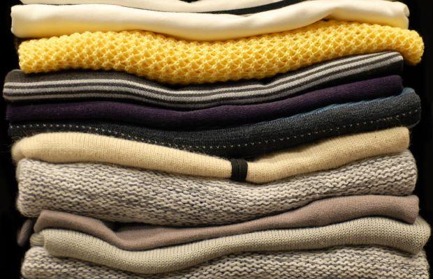 Storing clothes the Konmari way. Photo: iStock