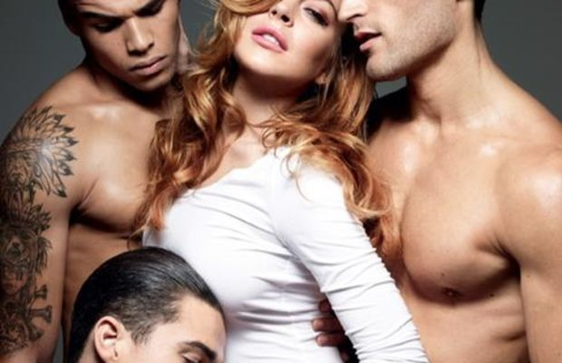 Lindsay Lohan for 'Homme Style Magazine.'