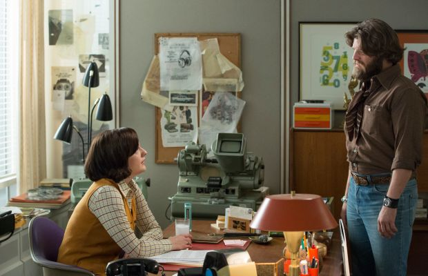 I'm still hoping Peggy and Stan end up together. Sigh. Photo: AMC