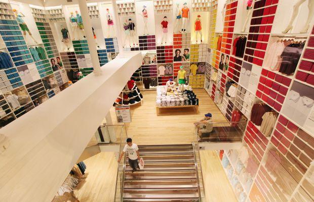A Uniqlo store. Photo: Mario Tama/Getty Images