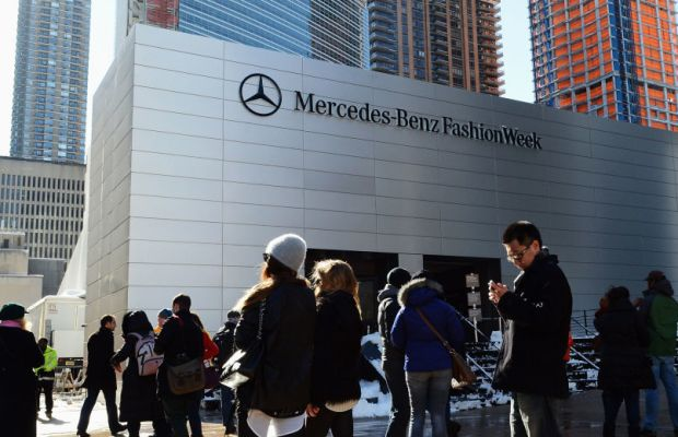 Bye bye, Lincoln Center. It's been real. Photo: Andrew H. Walker/Getty Images for Mercedes-Benz Fashion Week