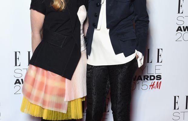 Katie Hillier, Luella Bartley. Photo: Gareth Cattermole/Getty Images