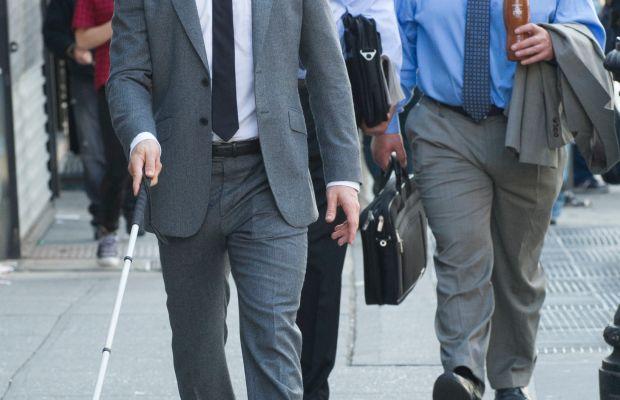 Charlie Cox as Matt Murdock doing his day job. Photo: Barry Wetcher/Netflix, Inc.