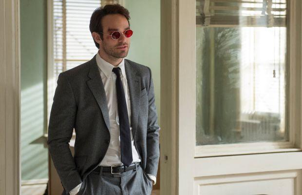 Nice suit. Charlie Cox as Matt Murdock in 'Marvel's Daredevil.' Photo: Barry Wetcher/Netflix, Inc.