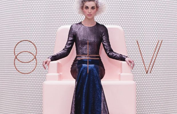 "The album cover for the Grammy-winning ""St. Vincent."" Photo: Courtesy Loma Vista"