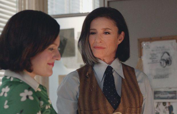 Working her magic on Peggy. Photo: AMC