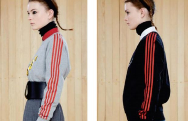 The offending designs. Photo: Adidas