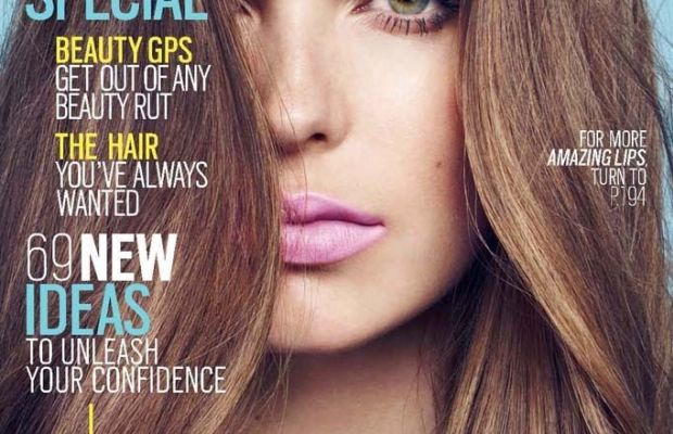 'Cosmopolitan' subscribers found this L'Oreal-sponsored ad on the cover of the May 2014 issue. Photo: Cosmpolitan