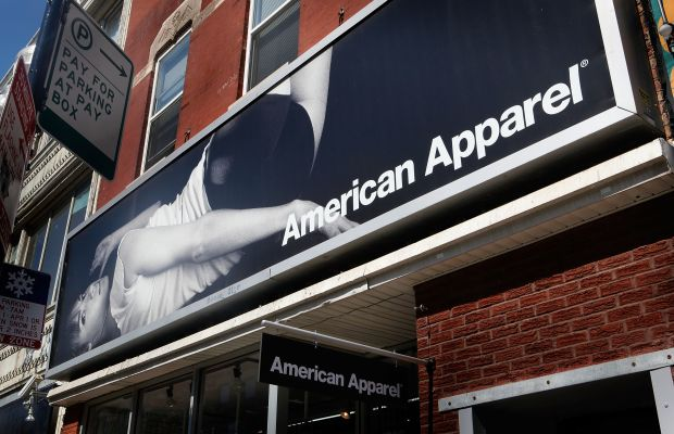 An American Apparel store. Photo: Scott Olson/Getty Images